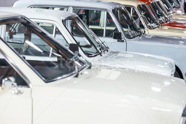 White cars Stock photo © vapi