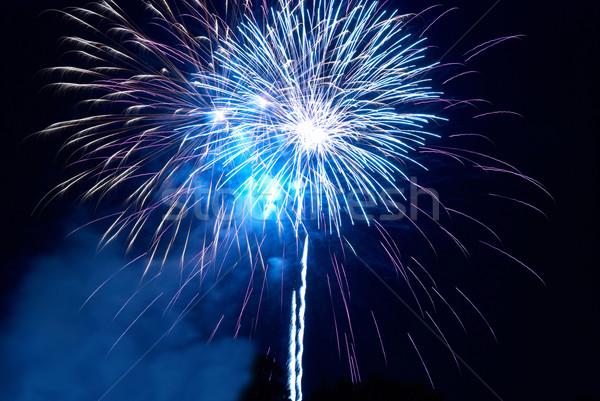 Stock fotó: Színes · tűzijáték · fekete · égbolt · boldog · fény