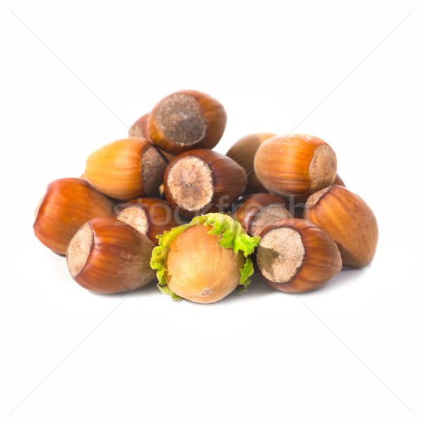 Pile of filbert nuts Stock photo © vapi