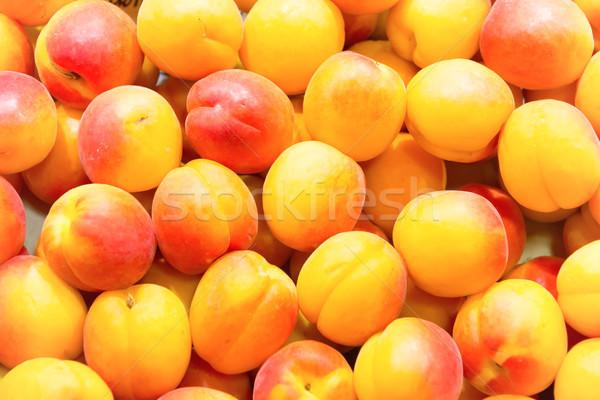 Sok friss farm piac érett gyümölcs Stock fotó © vapi