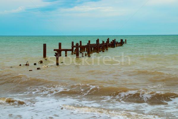 Broken mooring Stock photo © vapi