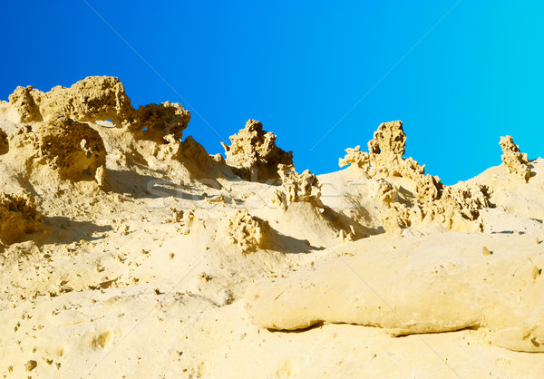 песчаник пород горные оранжевый путешествия каменные Сток-фото © vapi