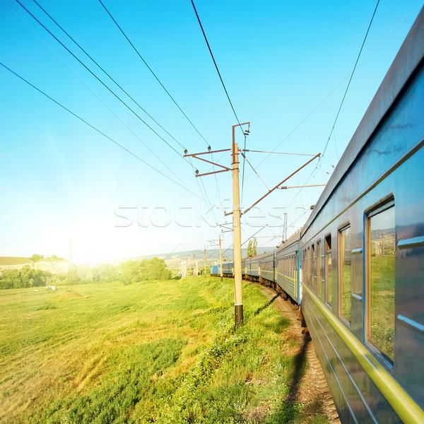 Motion train Stock photo © vapi