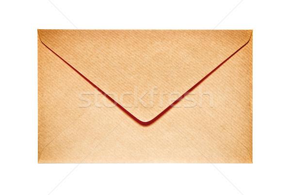 Closed old paper envelope Stock photo © vapi