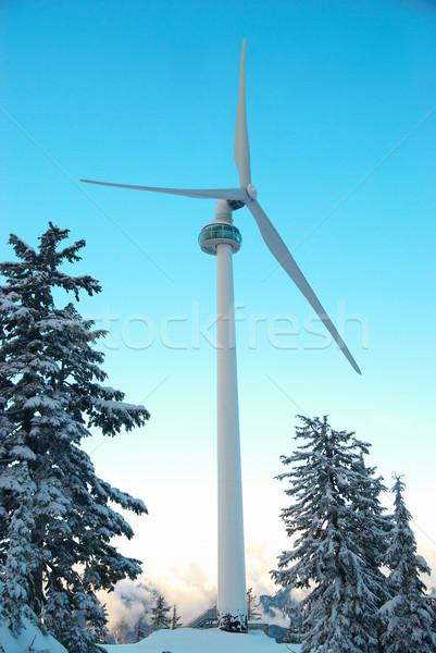 Wind turbine Stock photo © vapi