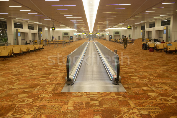 Airport's hall Stock photo © vapi