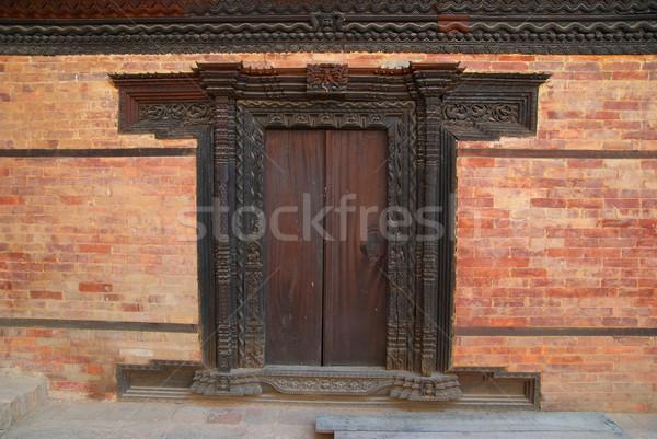 Old wooden door Stock photo © vapi
