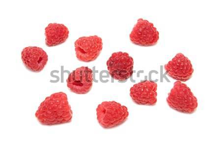 Many raspberries Stock photo © vapi