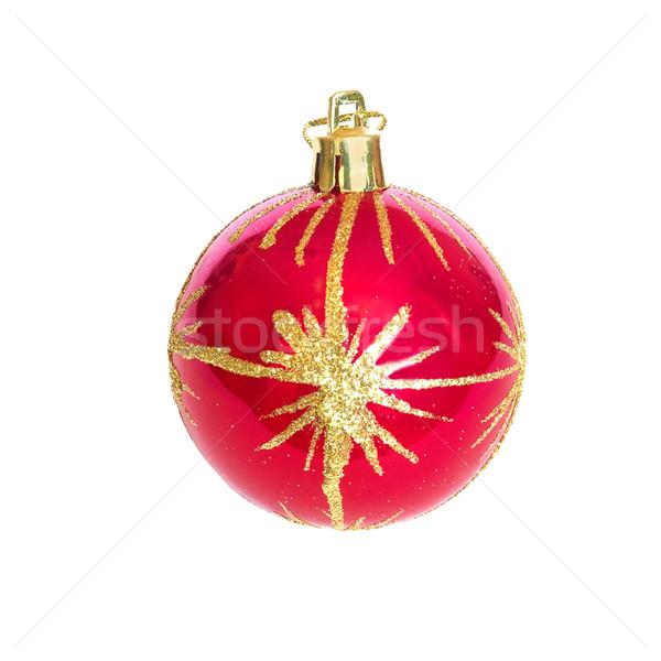 Foto d'archivio: Rosso · Natale · gingillo · vetro · arte · segno