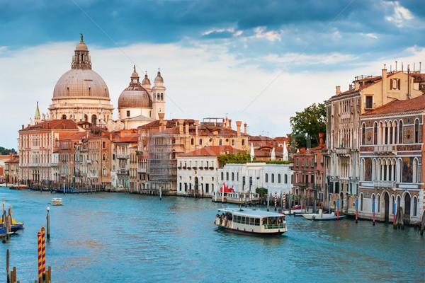 Kanaal Venetië Italië basiliek Stockfoto © vapi