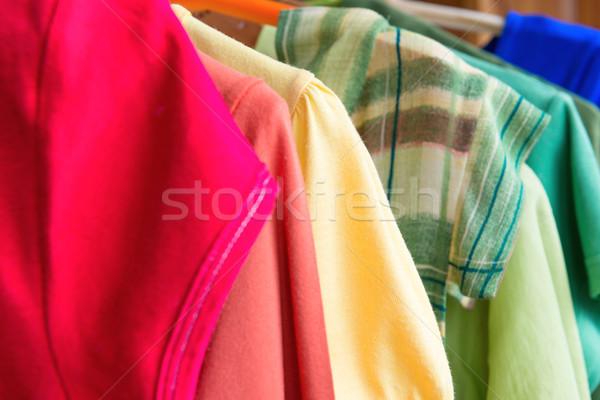 Muitos colorido roupa varejo venda Foto stock © vapi