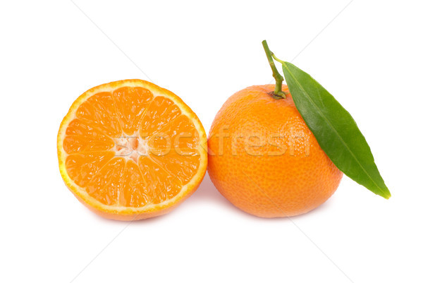 Orange mandarins Stock photo © vapi