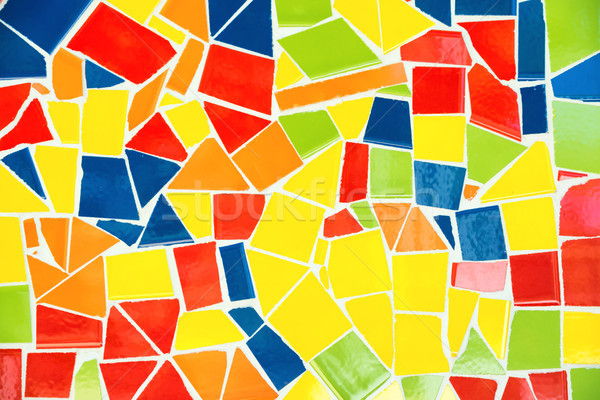 Colorful mosaic pattern Stock photo © vapi