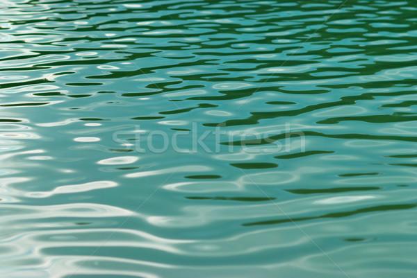 Wateroppervlak textuur zon abstract natuur achtergrond Stockfoto © vapi