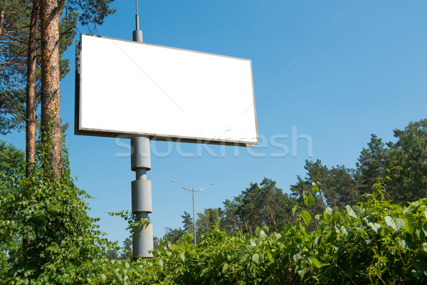 Blank billboard with empty space Stock photo © vapi