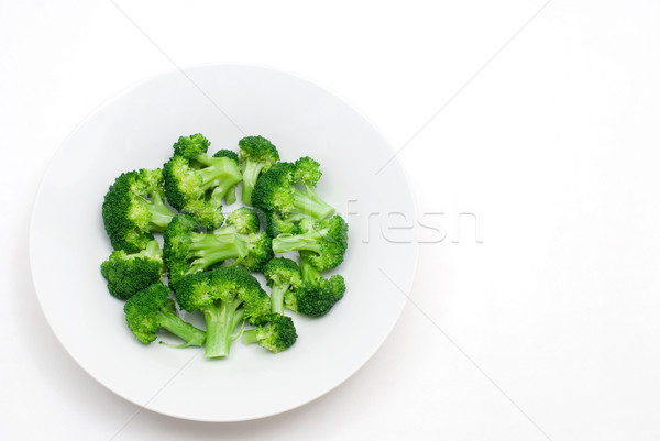 Boiled broccoli Stock photo © varts