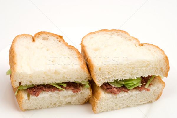 Corned beef sandwich Stock photo © varts