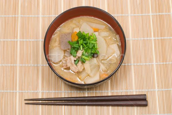 Tonjiru Stock photo © varts