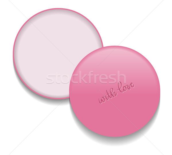Maquillaje envases plantilla vector aislado Foto stock © vasilixa