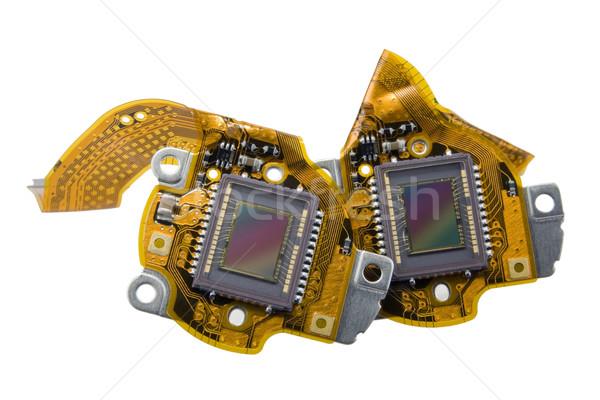 Cámara digital macro imagen moderna masa compacto Foto stock © vavlt