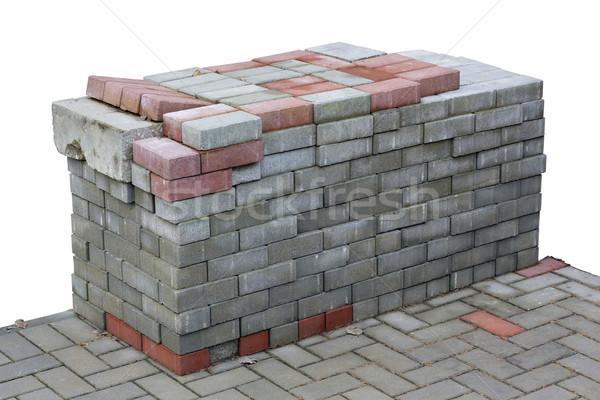 Blocks for sidewalk Stock photo © vavlt