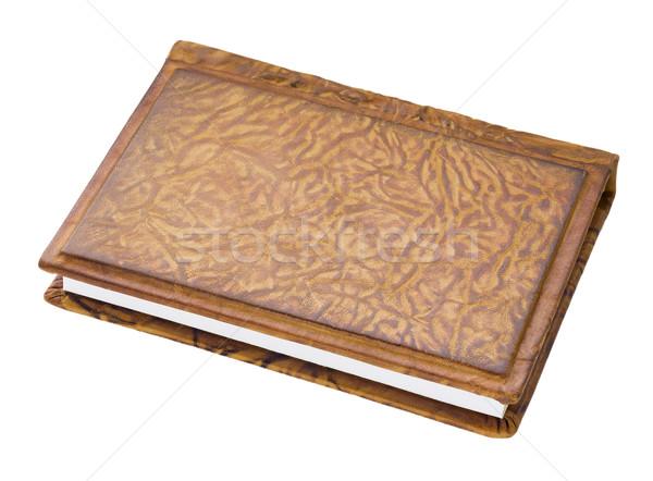 Bayan dikkat kitap küçük pahalı kapak Stok fotoğraf © vavlt