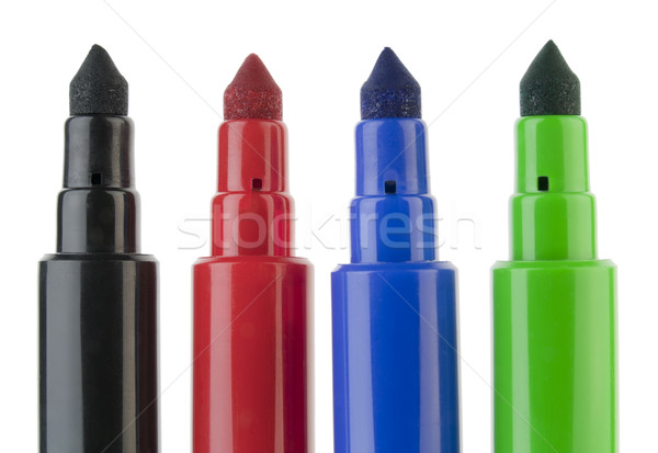 Usual felt-tip pens Stock photo © vavlt