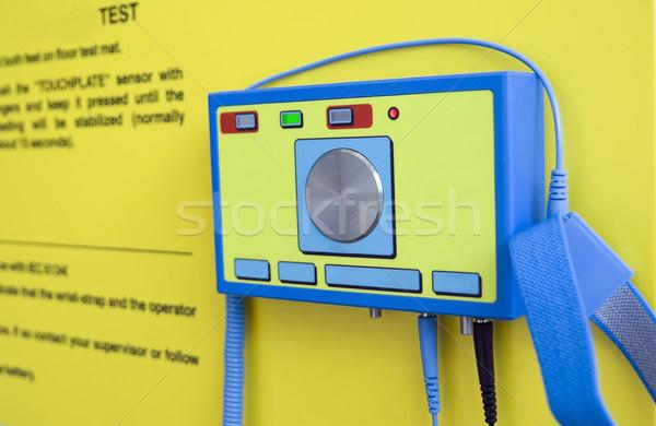 испытание электростатический электроэнергии научный оборудование Сток-фото © vavlt