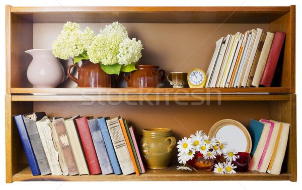 Rural bookshelf  Stock photo © vavlt