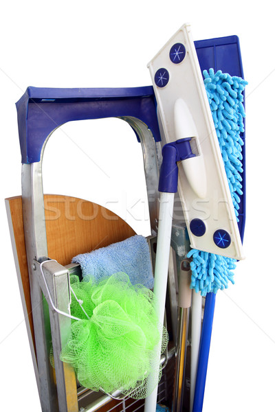 Tools for rooms cleaning Stock photo © vavlt