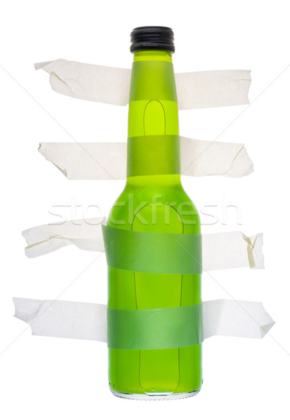 Alcohol is forbidden, alcoholic drinks are a poison  Stock photo © vavlt