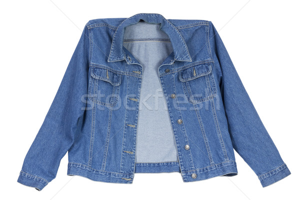 cowboy's  blue cotton  jacket Stock photo © vavlt