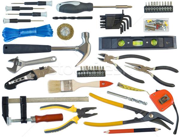 Mega tooling set for the master Stock photo © vavlt