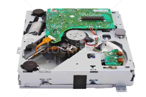 Mechanical loader for compact disks Stock photo © vavlt