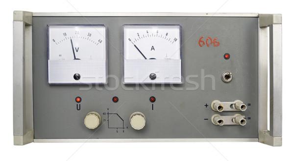 Power supply retro Stock photo © vavlt