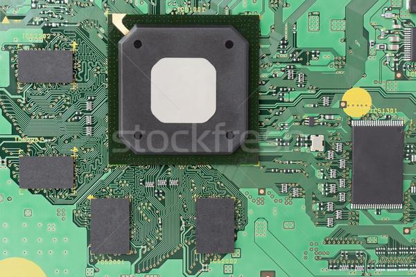 Controlar eletrônico memória moderno alto freqüência Foto stock © vavlt