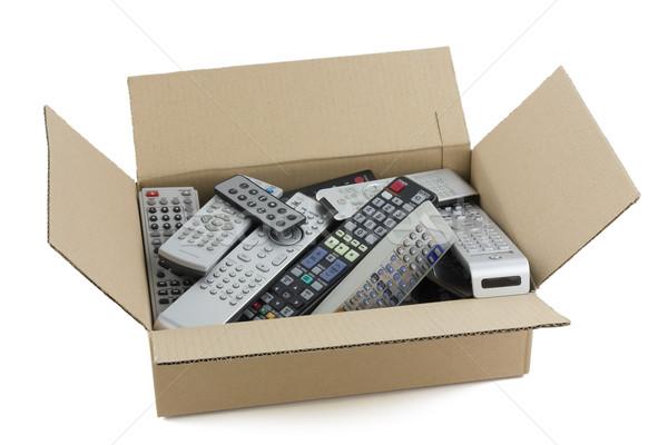 Defeituoso Áudio vídeo remoto cartão indústria Foto stock © vavlt