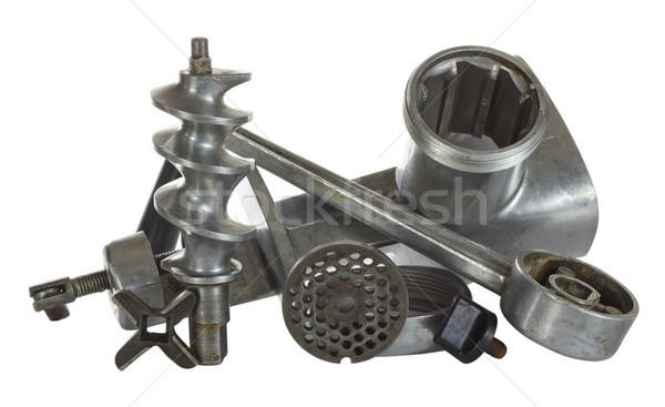 レトロな 金属 キッチン グラインダー ヴィンテージ ストックフォト © vavlt