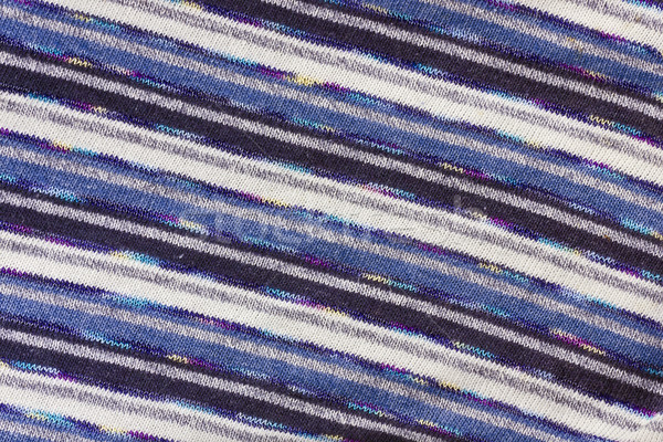 шарф шерсти синий белый текстуры избирательный подход Сток-фото © vavlt