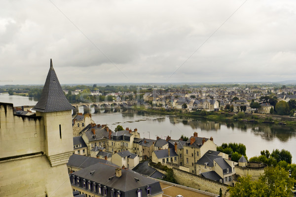 old French town  Stock photo © vavlt