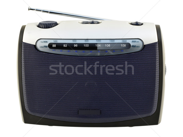 Radio  receiver with an analogue scale Stock photo © vavlt