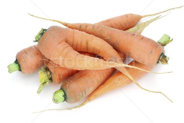 Rurale ecologico carota cresciuto up giardino Foto d'archivio © vavlt