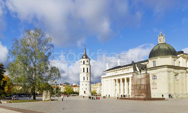 秋 ヴィルニアス 市 古い ヨーロッパの ストックフォト © vavlt