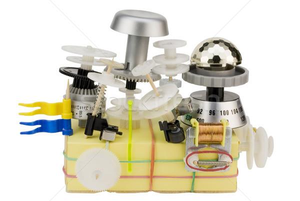 Time toy machine humour concept Stock photo © vavlt