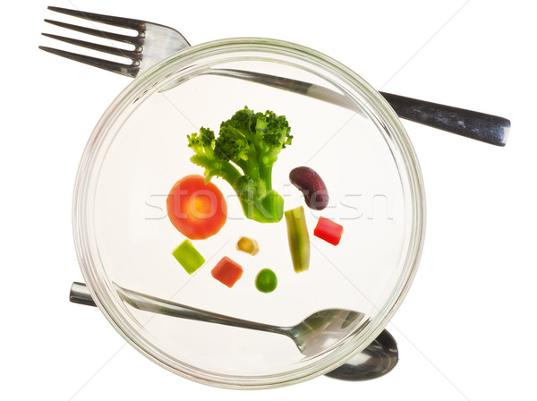 Vegetable diet concept Stock photo © vavlt