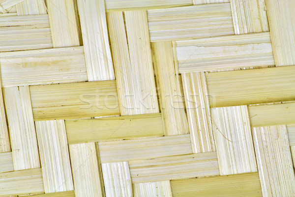 Texture of a basket wattled from a linden Stock photo © vavlt