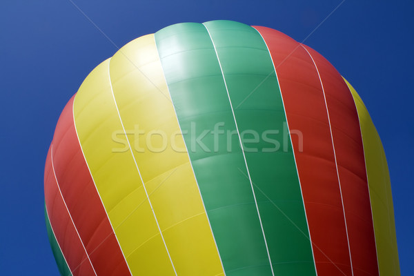 Part of a balloon and the blue sky background Stock photo © vavlt