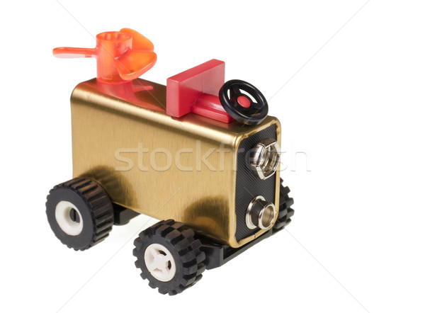 Toy Electric car  Stock photo © vavlt