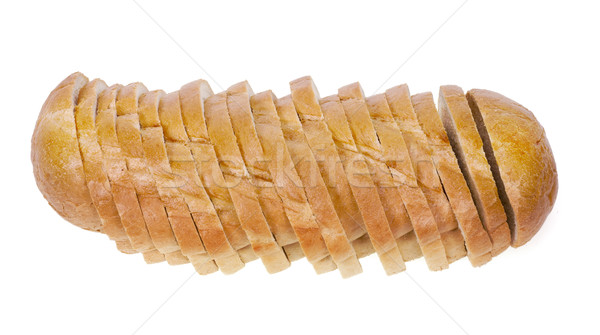 Flying wheat white bread  Stock photo © vavlt