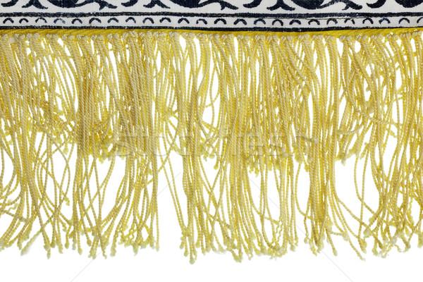yellow fringe  Stock photo © vavlt